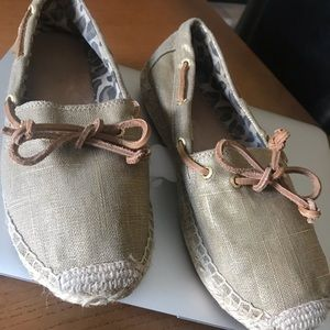 Speery metallic casual shoes